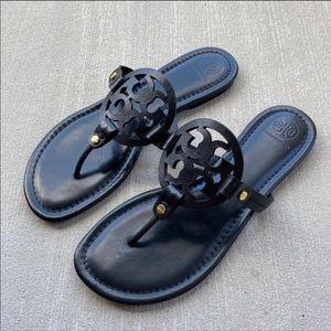 ▪️Tory Burch▪️black Miller thong sandal